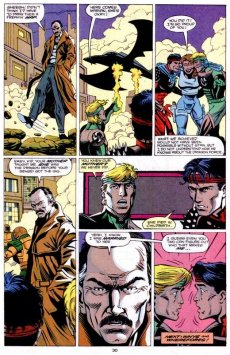 The Marvel Comics adaptation of DOUBLE DRAGON infamously establishes that Billy and Jimmy are the sons of Stan Lee. Uh, sure.